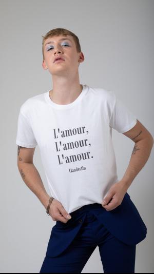 Tee-shirt Amour Black Edition 1