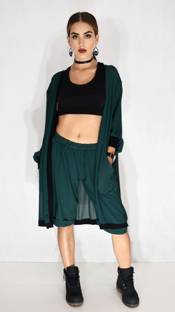 Valeria Cardigan and Trousers W144 1