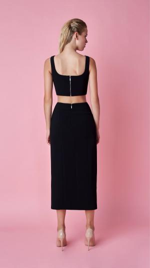 Noara Black Skirt Set 2
