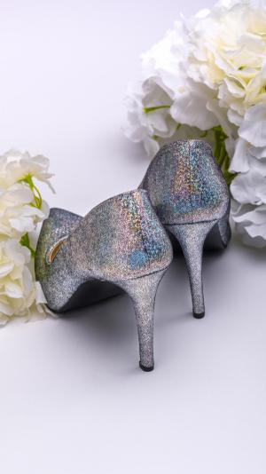 Metalic high heels 2