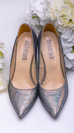 Metalic high heels 1