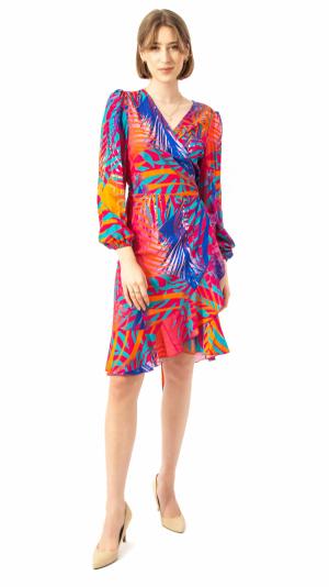 Exotic Palm Dress 1