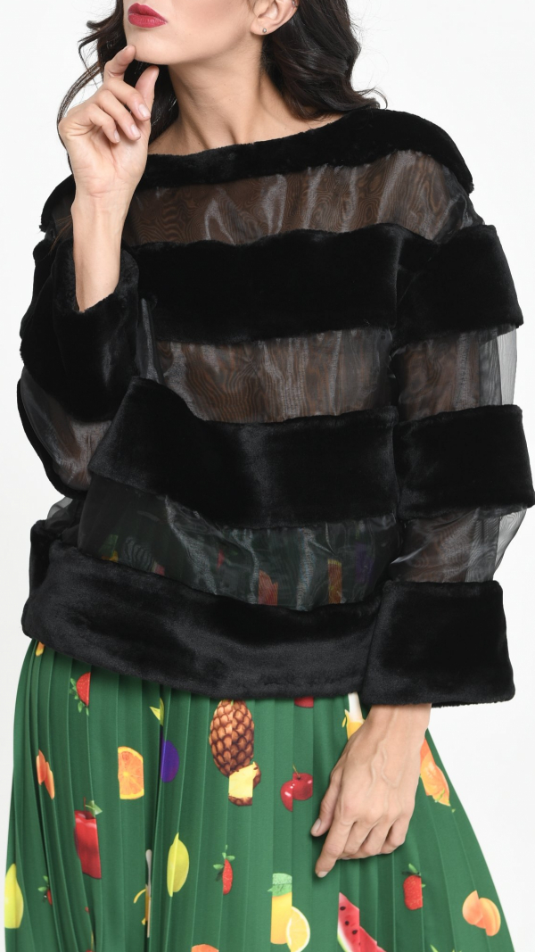 Sweater Mango Smoothie Tailor-made 1