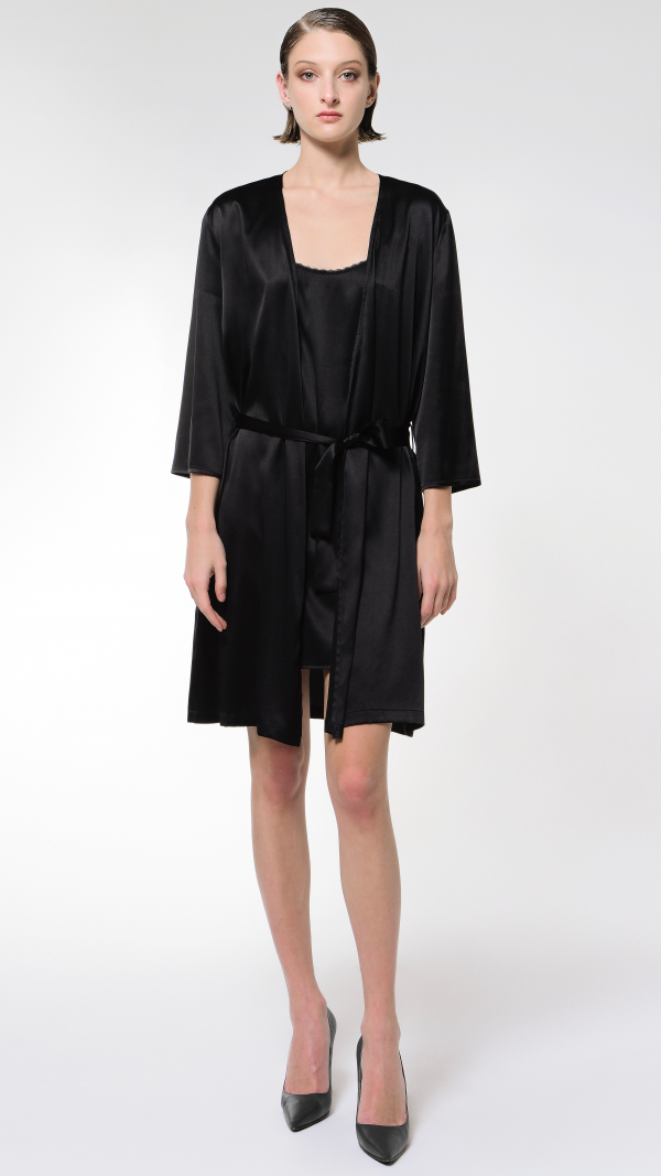 Lachesis-Pure Silk Kimono (Nightwear) 1