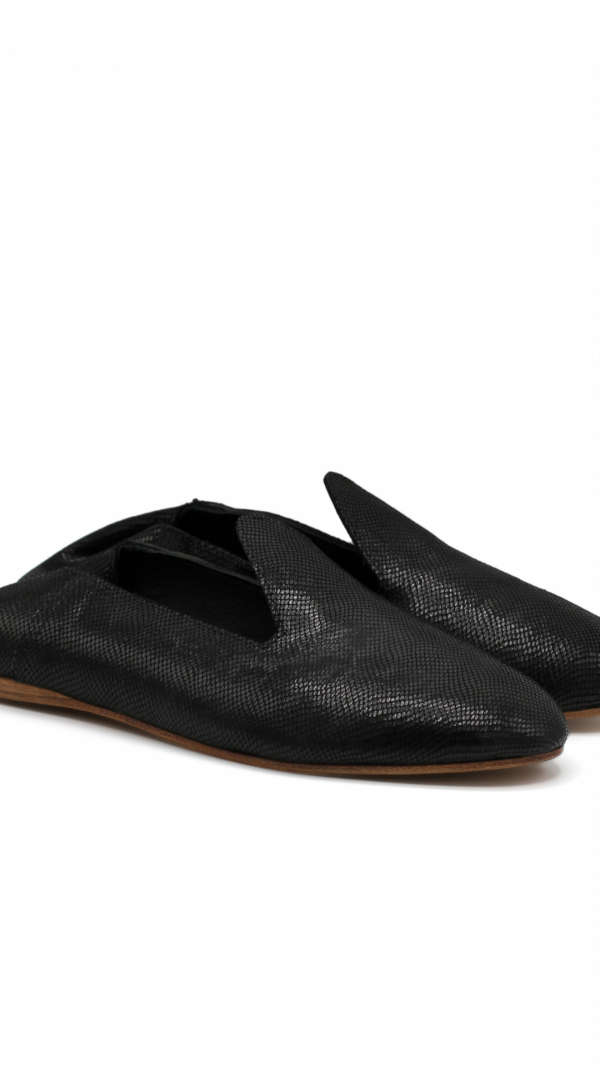 La Babouche Loafer Slip-on - Onyx 1