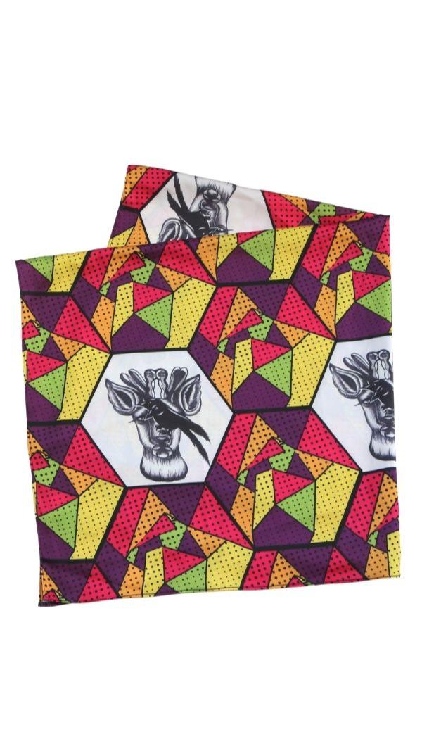 womens_printed_scarf_hair_accessories_neckerchief_1