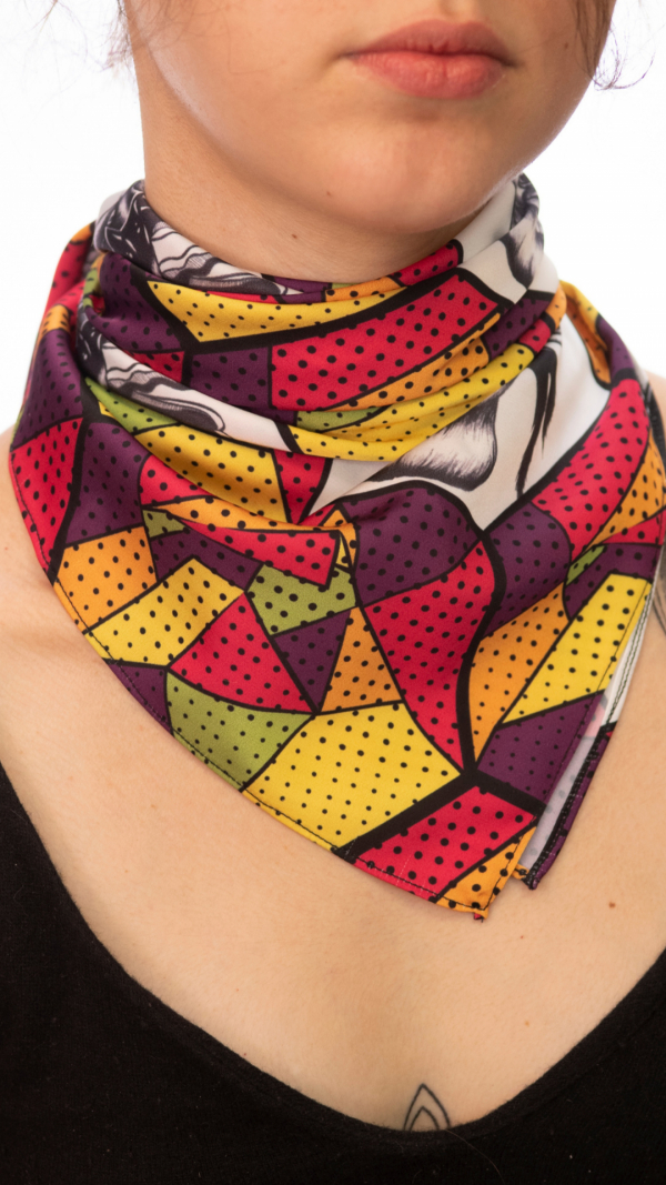 womens_printed_scarf_hair_accessories_neckerchief_2