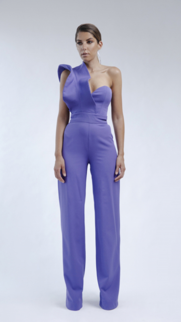 Purple jumpsuit 2