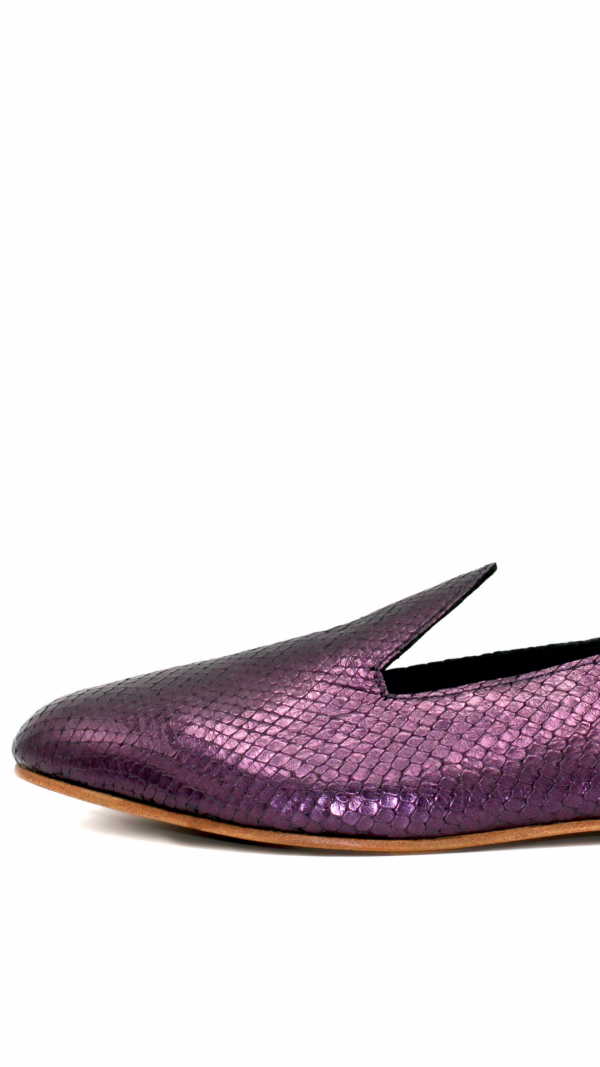 La Babouche Loafer Slip-on - Violet 2