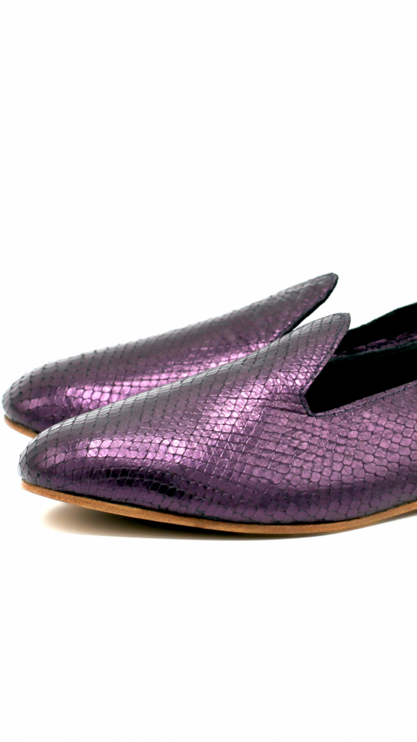 La Babouche Loafer Slip-on - Violet 1