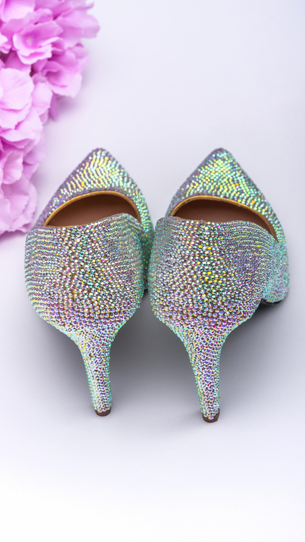 Crystal high heels 2