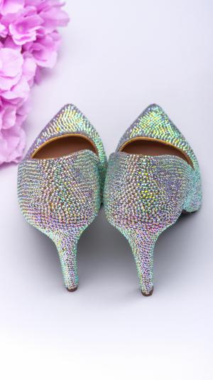 Crystal high heels 2