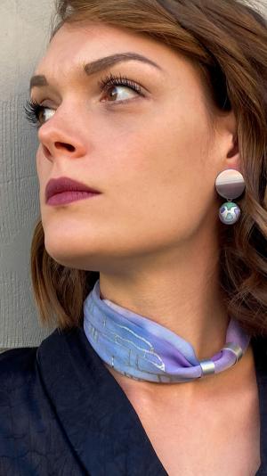 Lavender  jewelry set 1