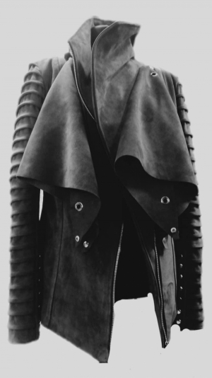 Women's leather jacket 1