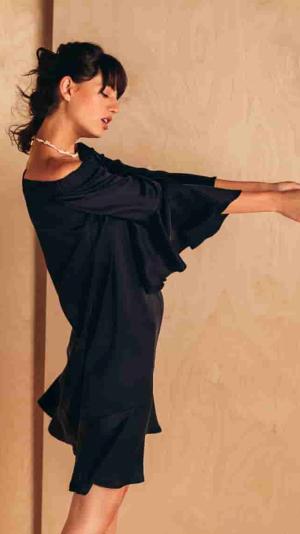 Limited Edition Short Breezy Silk Dress 1