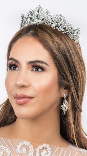Bridal Tiara & Earrings 2