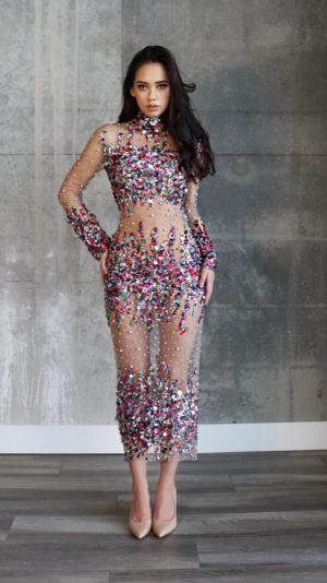 Candy Midi Dress - Custom Made 1