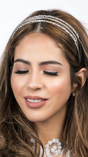 Bridal Crystal & Rhinestone Headband 1
