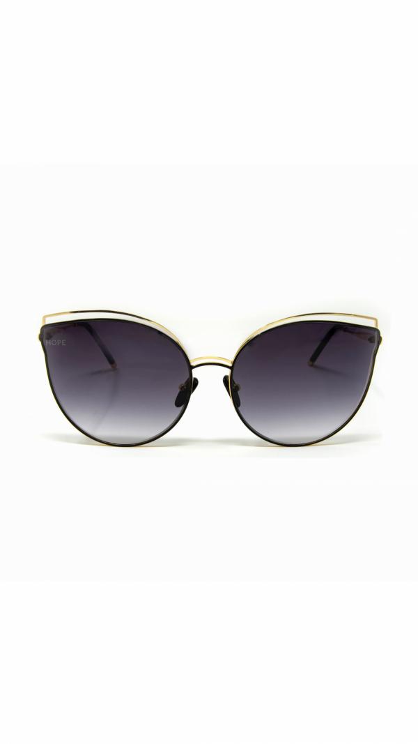 BAST black - sunglasses, chain & leather case 2