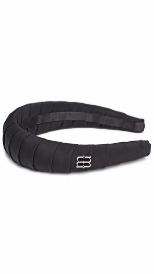 Cecy black headband 1