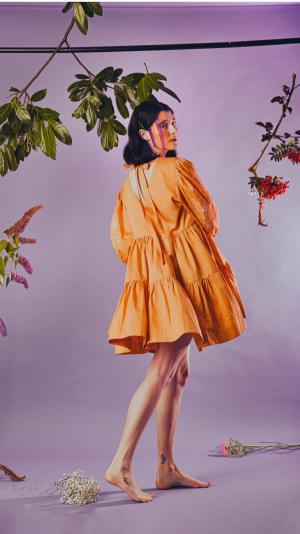 Lilla dress in yellow 1