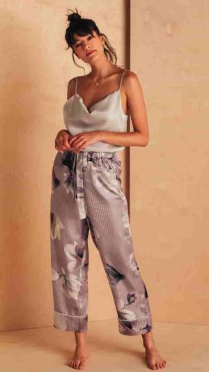 Silk Floral Pyjama Set 2