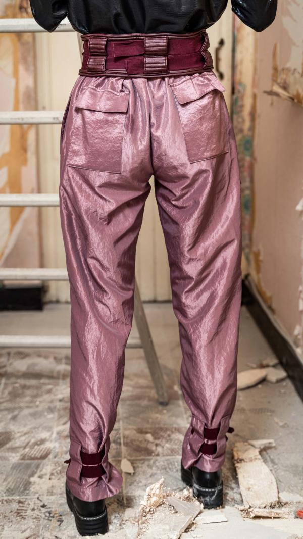 3D space pants 2