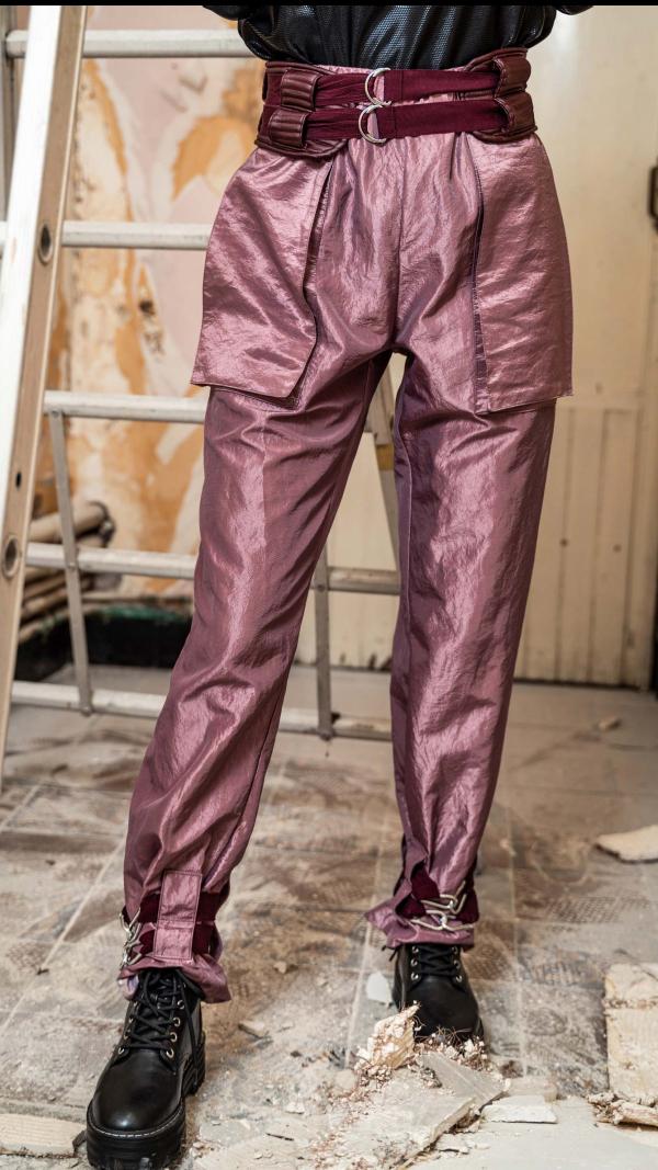 3D space pants 1