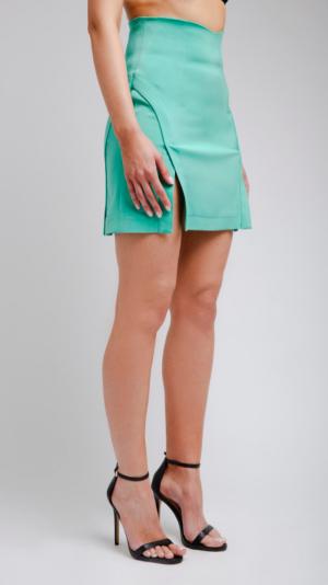 Mint Short Skirt 2