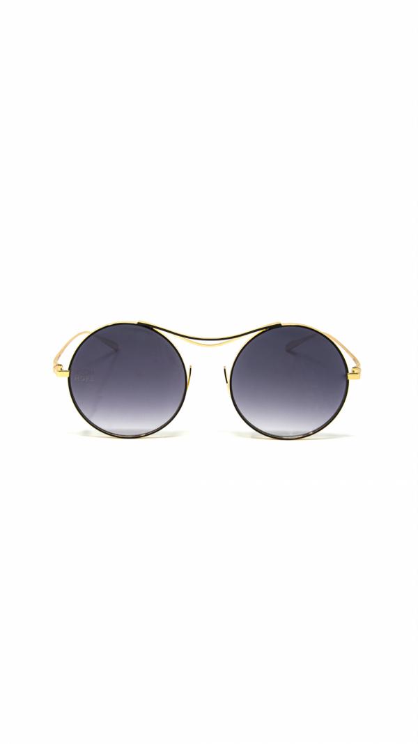 Sulis black - sunglasses, chain & leather case 2