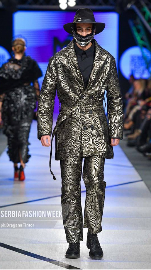 Brocade Robe Jacket