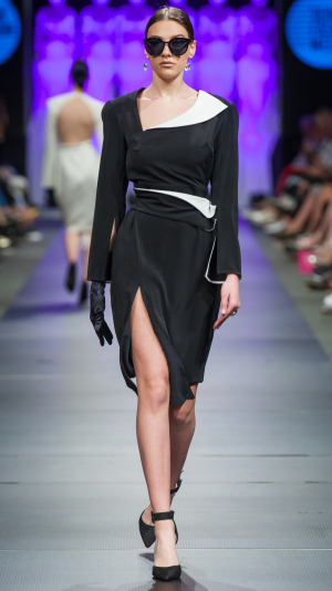 Black and White Dress 2