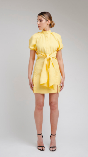 Yellow Short Dress 1