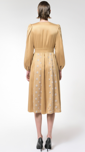 Achelois: Silk and Lace Dress 2