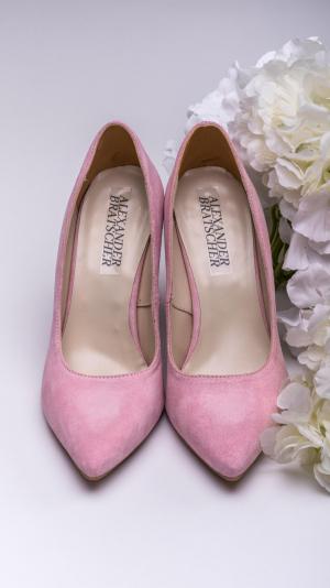 Pink high heels 1