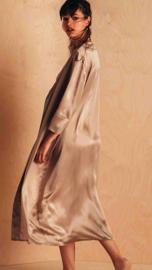 Silk Robe Kimono Style 2