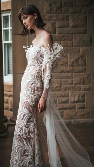 Dove Dress - Haute Couture 2