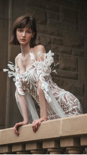 Dove Dress - Haute Couture 1