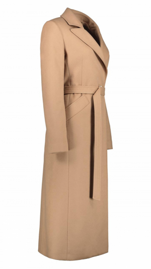 Timeless Icon Camel Wool-Blend Coat 2