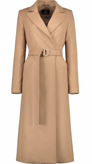 Timeless Icon Camel Wool-Blend Coat 1
