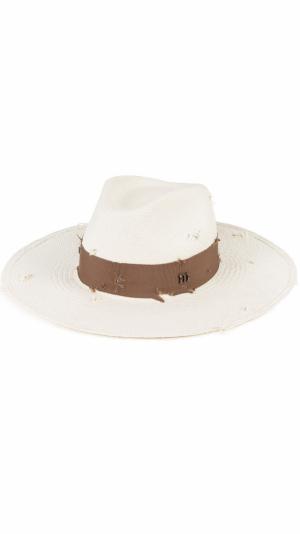 Distressed Panama hat 1