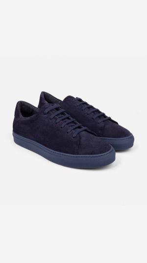 Suede Sneakers Blue - Alfredo 2