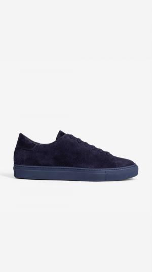 Suede Sneakers Blue - Alfredo 1